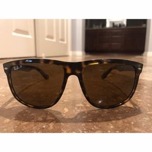 Ray Ban Tortoise Brown Polarized Sunglasses